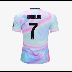 552da89a0 adidas Shirts - Adidas Ronaldo Juventus EA Sports Jersey 18 19